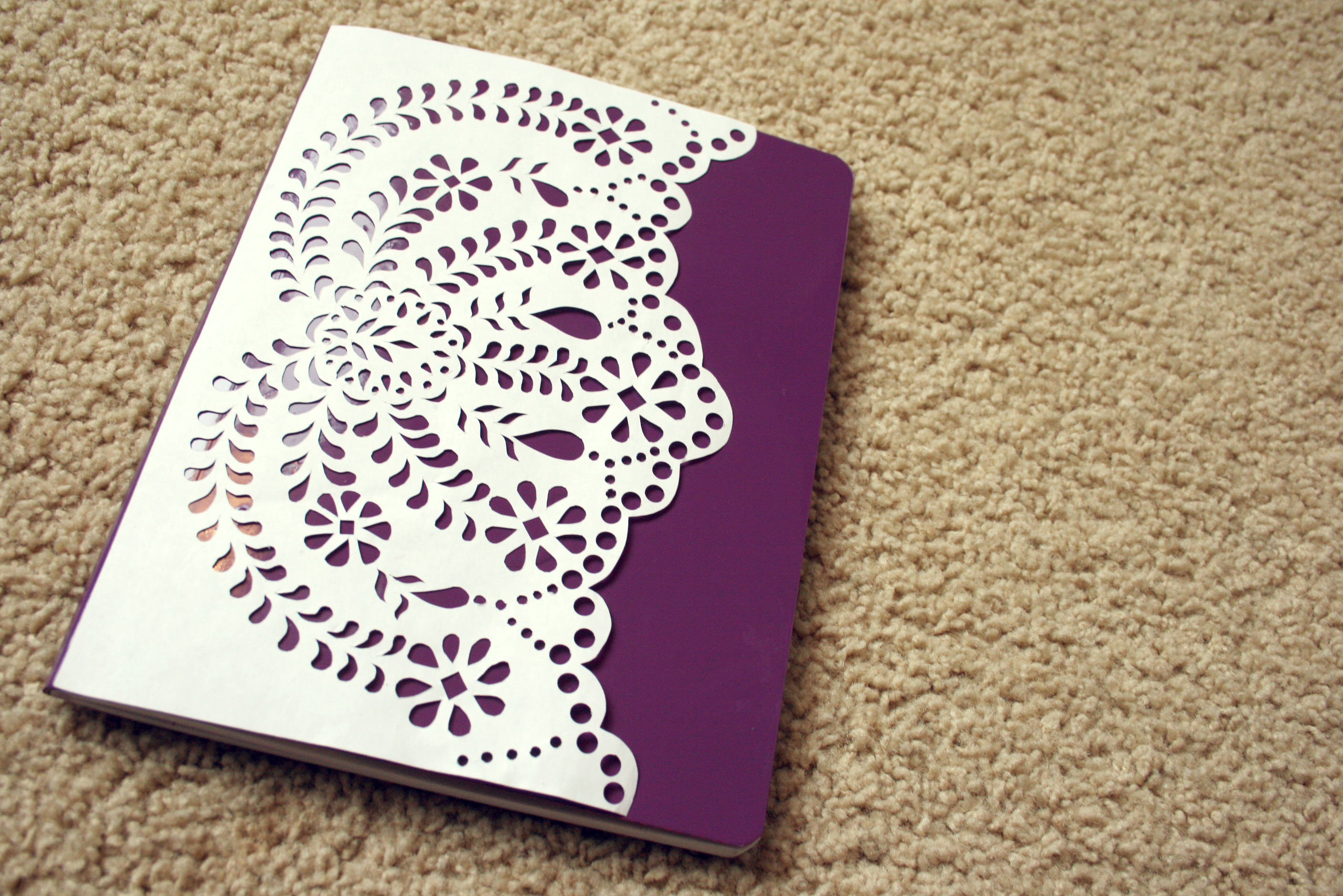 How To Make A Book Cover For Episode ~ Diy anthropologie journal amanda dorough the beautiful