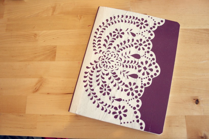 DIY Anthropologie Journal