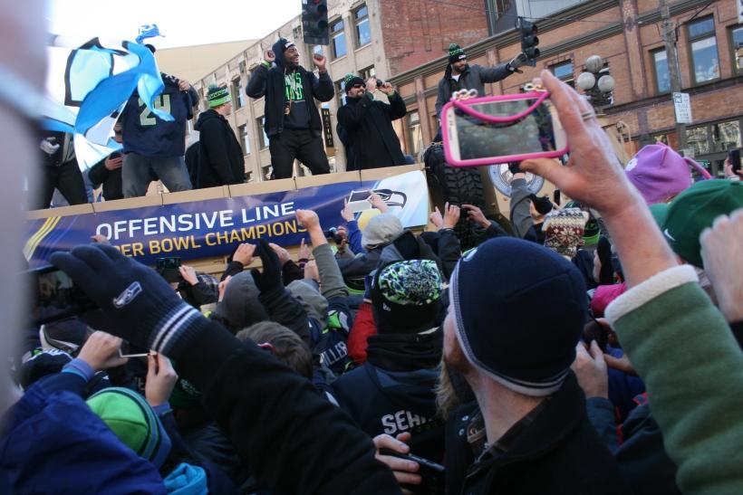 Seahawks Parade