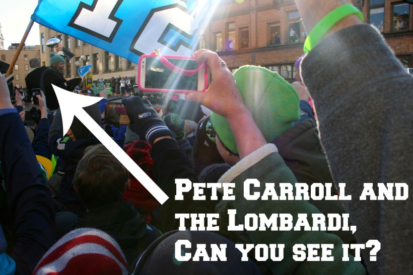 Seahawks Parade- Lombardi